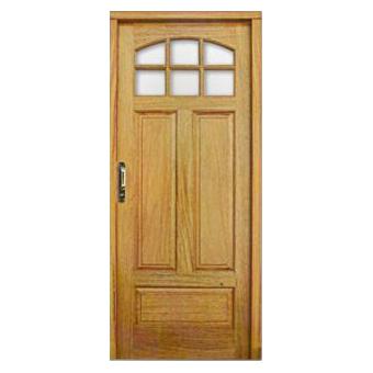 Puertas de madera con 1 4 vidrio toldos y aberturas frijo for Puertas de entrada con vidrio